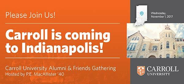 Alumni & Friends Gathering | Indianapolis