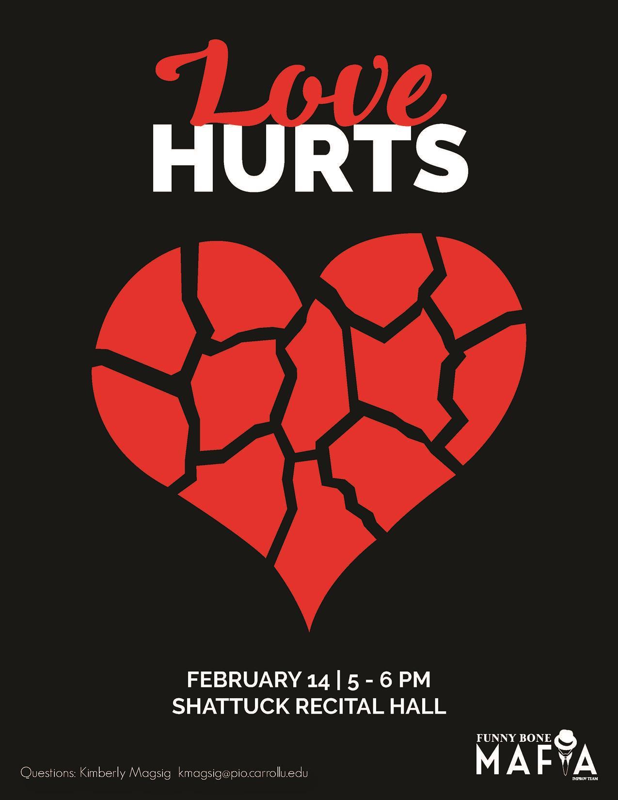 Love Hurts | Funny Bone Mafia Show