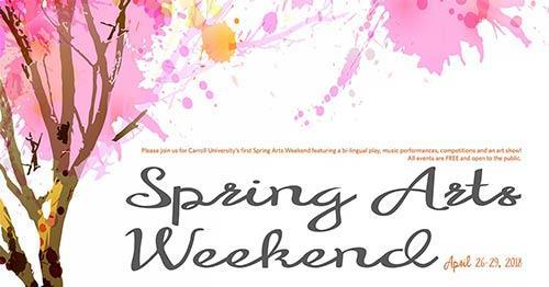 Spring Arts Weekend