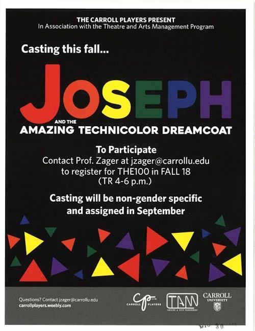 Joseph and the Amazing Technicolor... | Casting