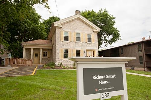 Richard Smart House Dedication