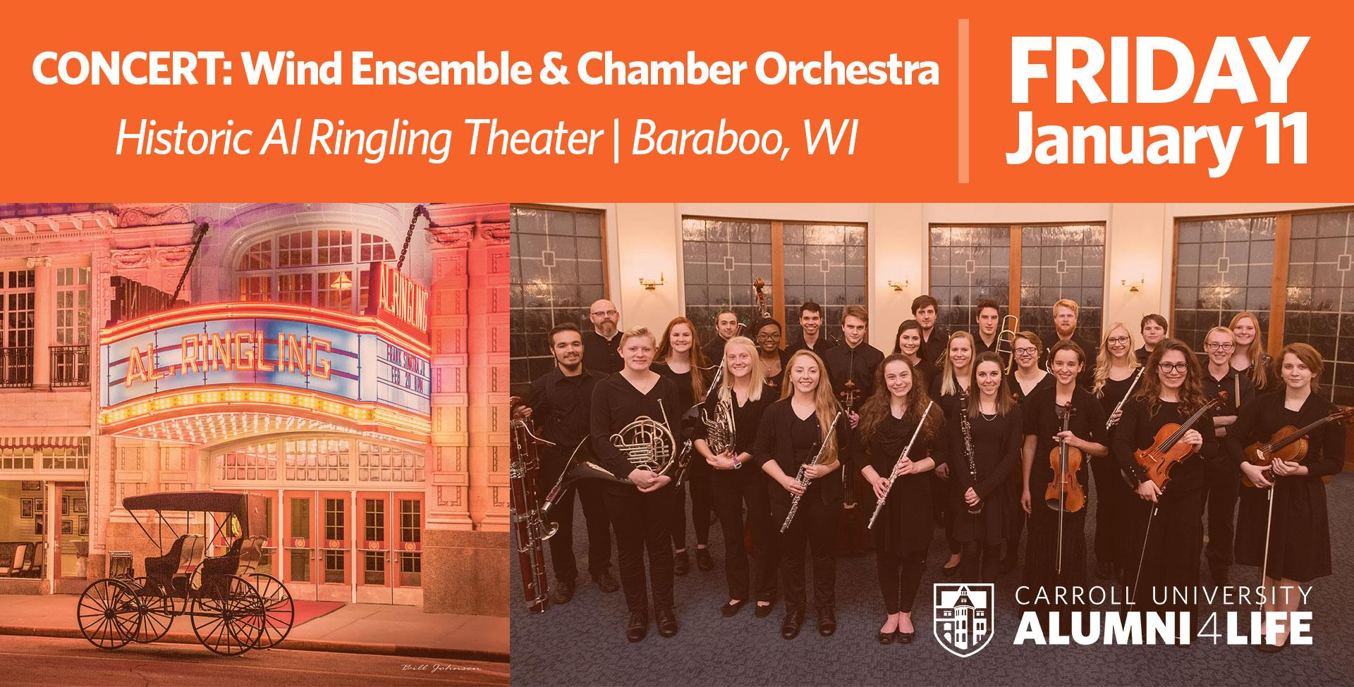 Wind Ensemble and Chamber Orchestra | Baraboo, WI