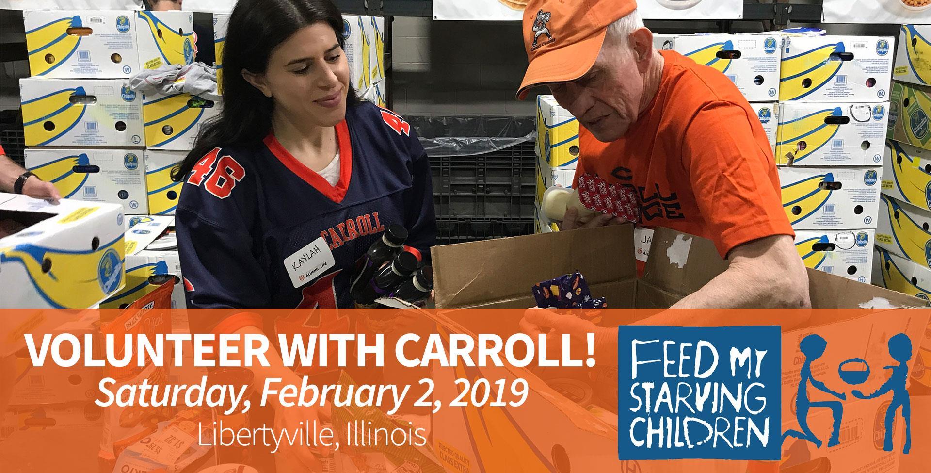 Volunteer with Carroll | Alumni & Current Students