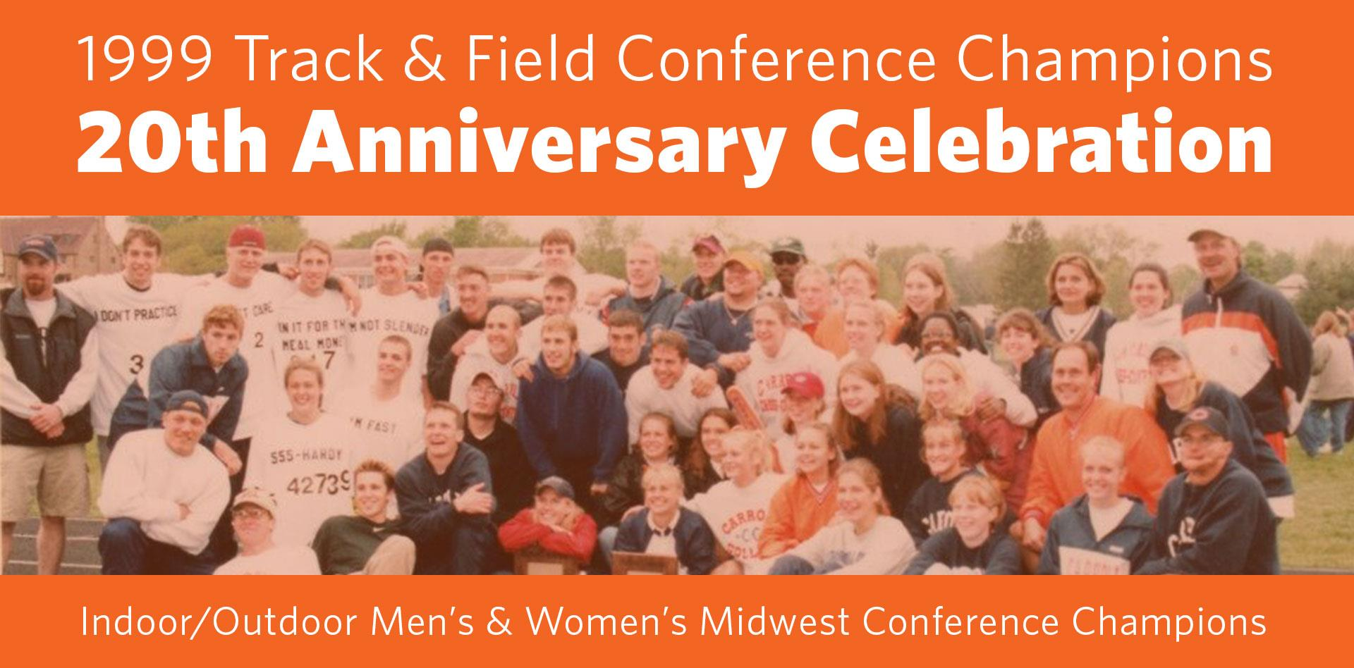 20th Anniversary | 1999 Track & Field Champions