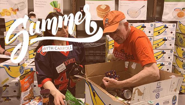 Summer with Carroll | Volunteer at Feeding America