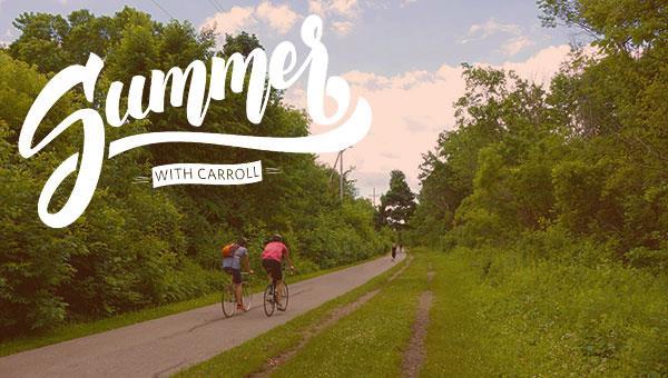Summer with Carroll   Bike Ride & Custard Stop!