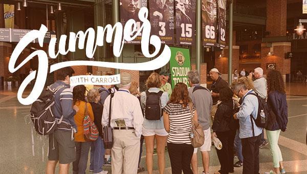 Summer with Carroll | Lambeau Field Tour