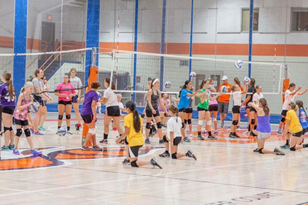 Little Pioneer Volleyball Camp