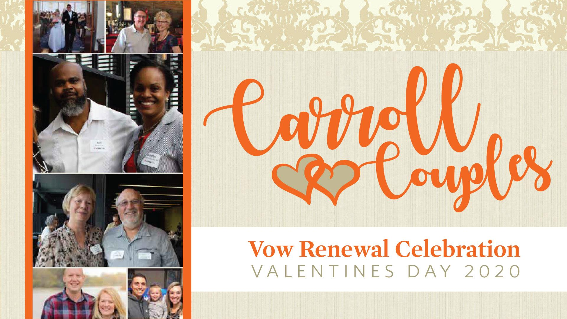 Carroll Alumni Couples | Vow Renewal Celebration