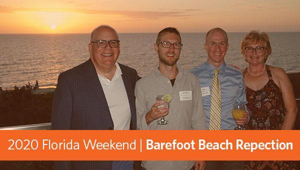 Florida Weekend | Barefoot Beach Reception