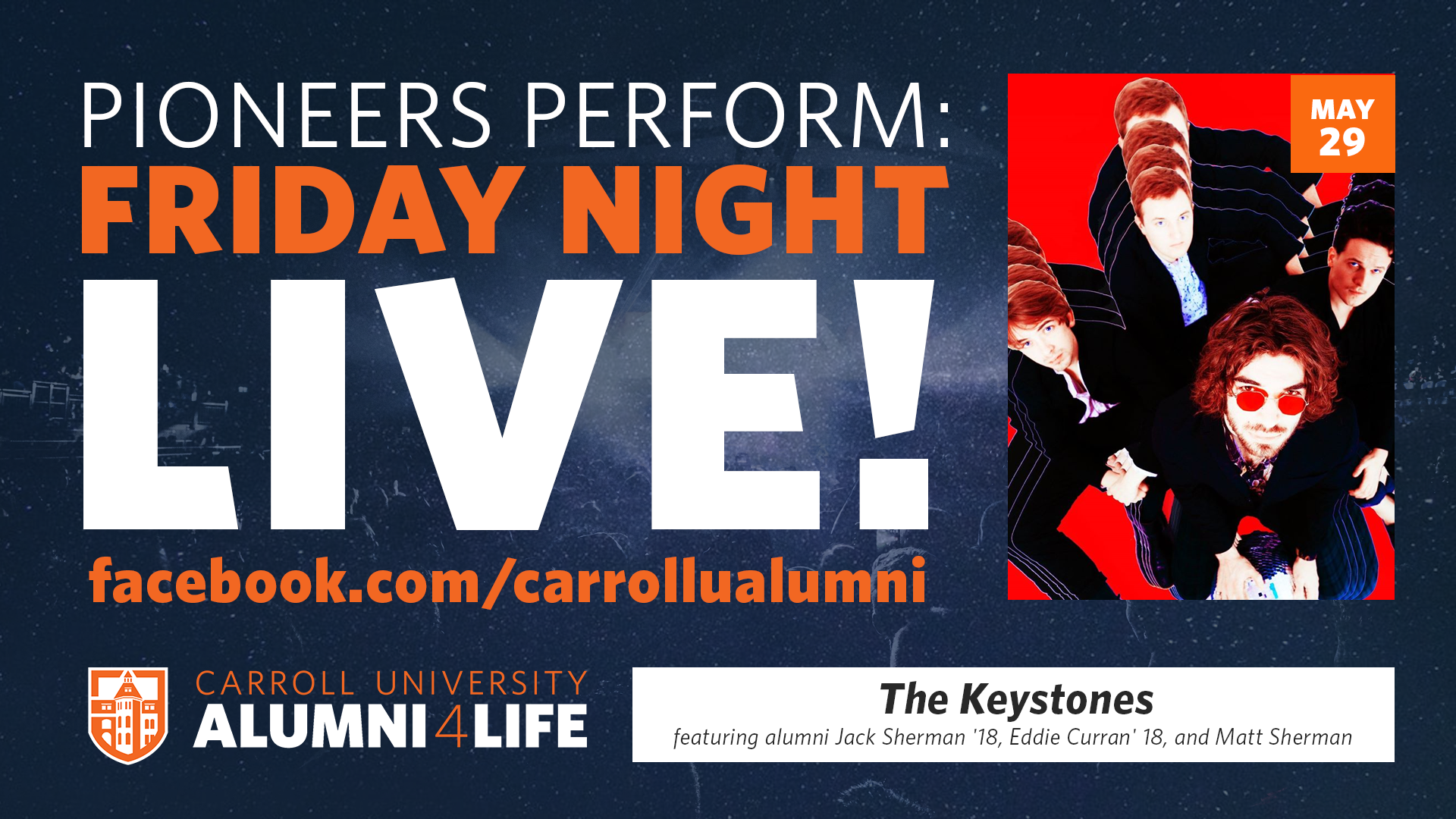 Friday Night Live! | The Keystones