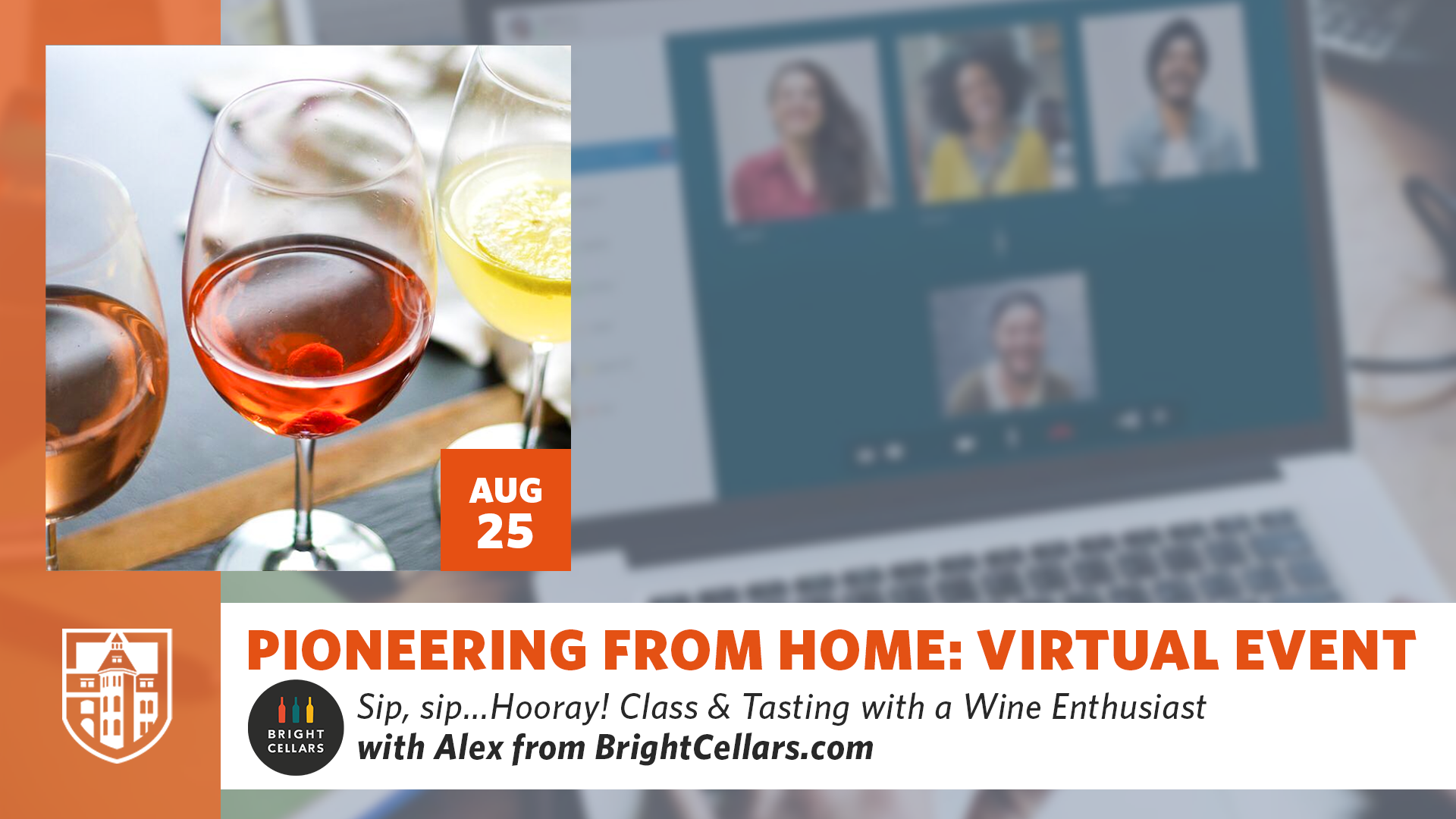 Pioneering From Home: Wine Class & Tasting