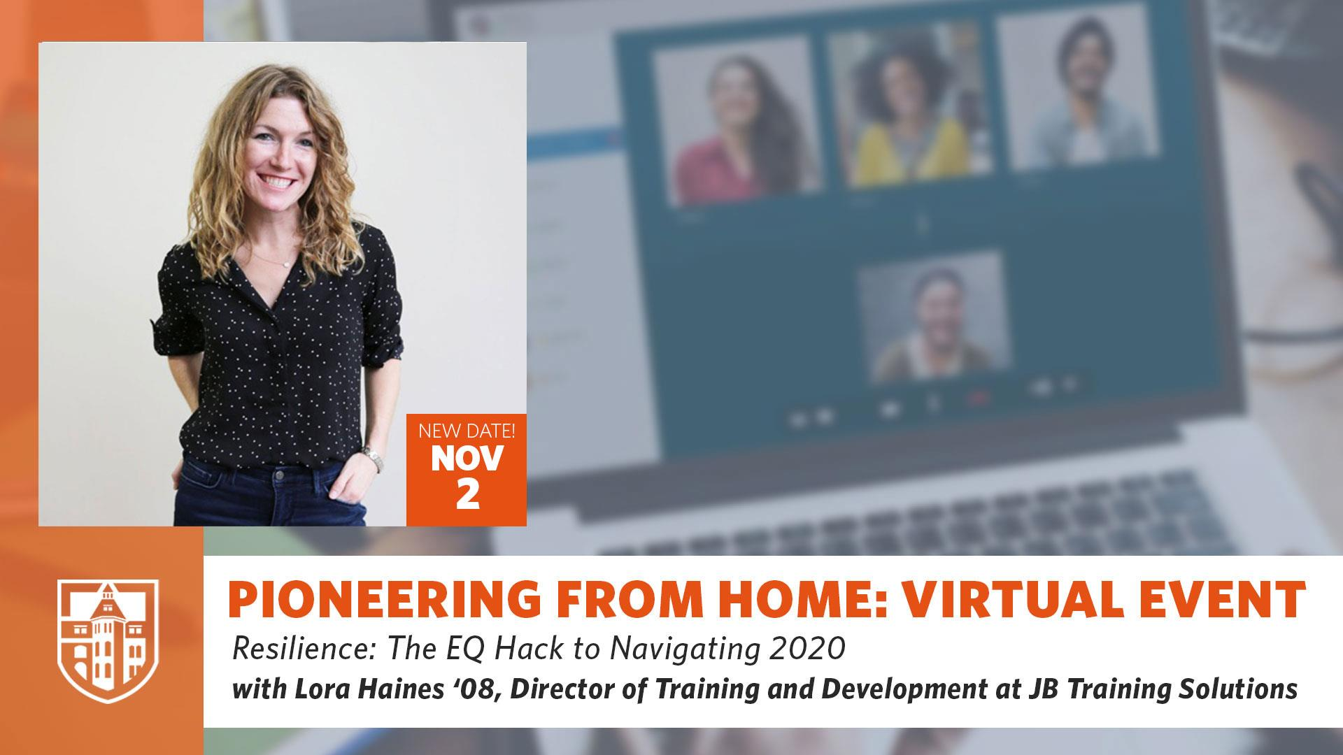 Pioneering From Home: Resilience: The EQ Hack to Navigating 2020