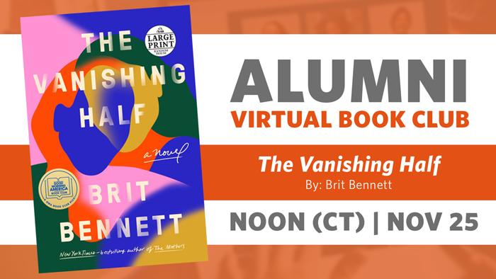 Alumni Book Club Meeting: The Vanishing Half