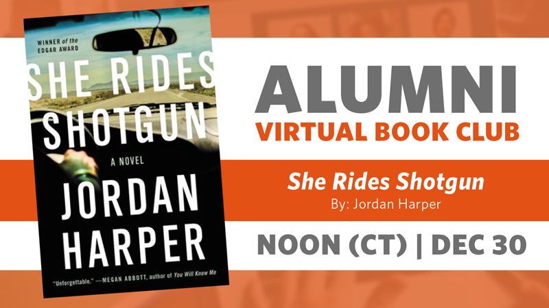 Alumni Book Club Meeting: She Rides Shotgun