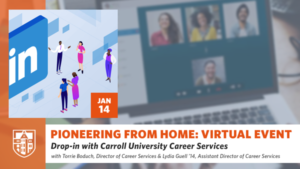 Drop-in with Carroll University Career Services