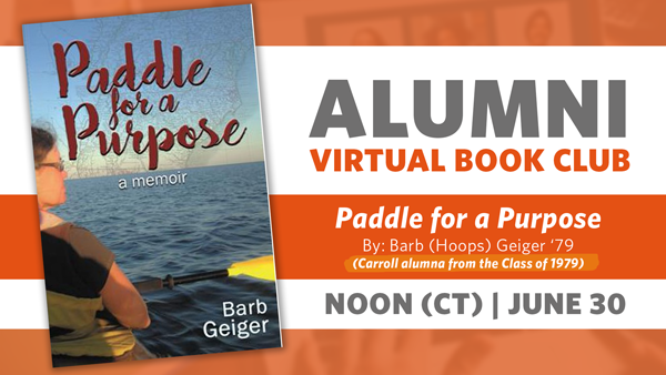 Alumni Book Club Meeting: Paddle for a Purpose