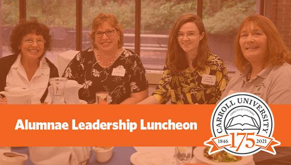 Alumnae Leadership Luncheon
